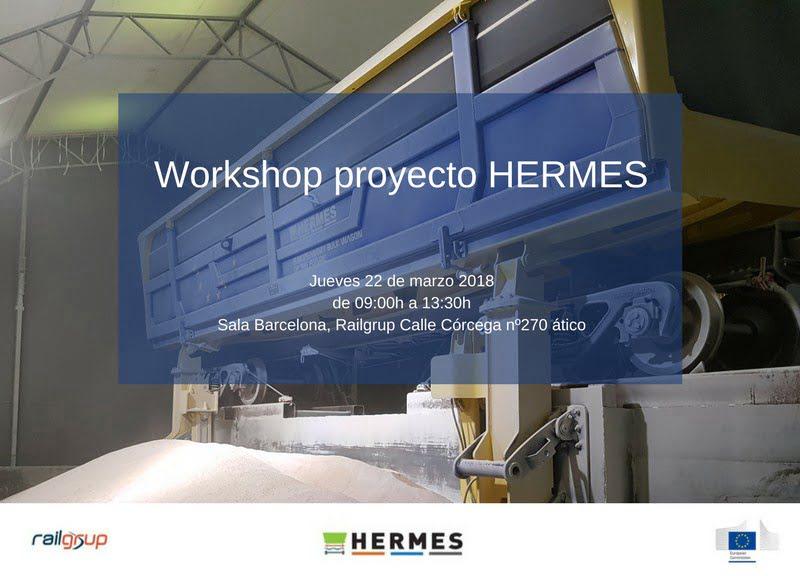 El consorcio del proyecto Hermes organiza un workshop en Railgrup