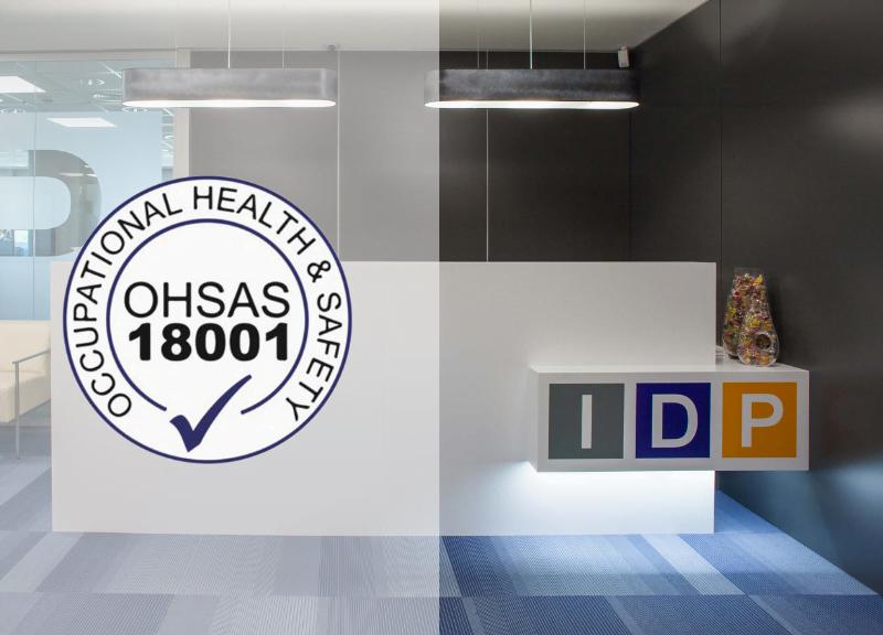 IDP obtiene la certificación OSHAS 18001 para la Seguridad y Salud Laboral