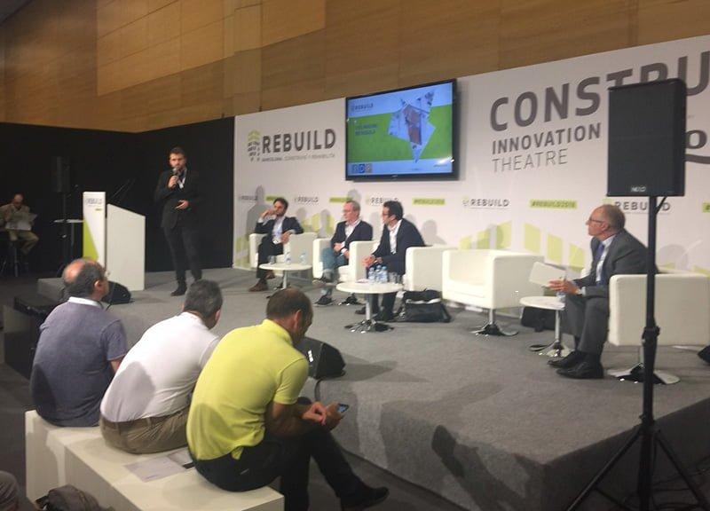 IDP participa en el REBUILD 2018: Congreso Nacional Arquitectura Avanzada y Construcción 4.O