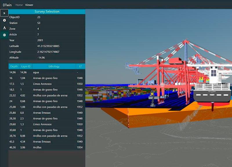 IDP finaliza la digitalización del acuífero del puerto de Barcelona