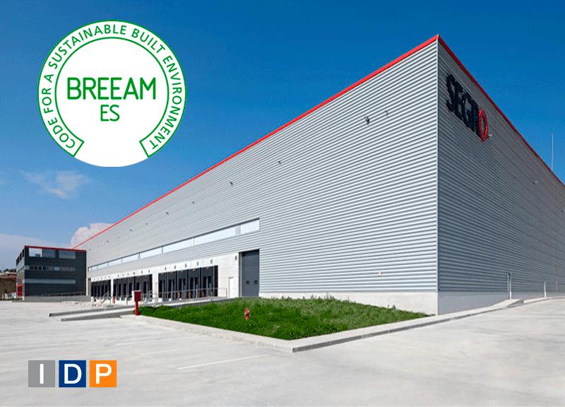 IDP obtiene el certificado BREEAM para SEGRO Logistics Park en Sant Esteve Sesrovires (Barcelona)