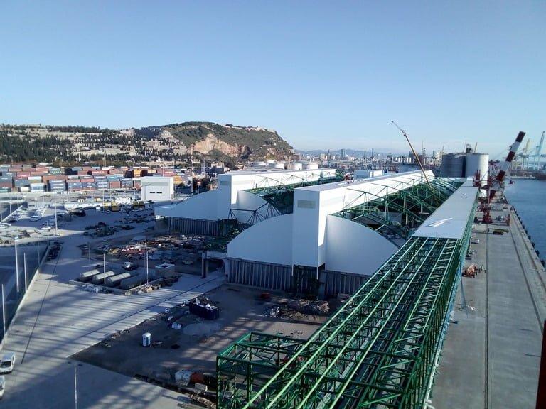 Inaugurada la nueva terminal de ICL en el Puerto de Barcelona