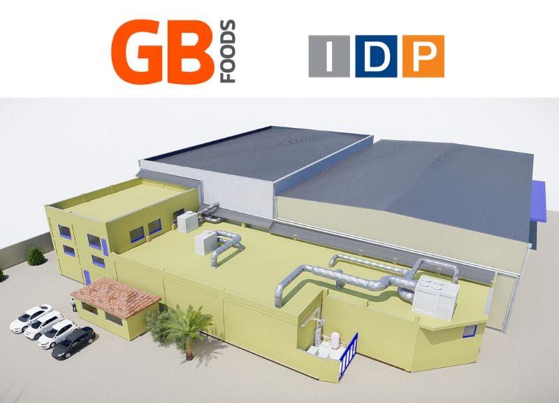 IDP finaliza el proyecto y dirección de la construcción de la ampliación de la fábrica de GBfoods en Argelia