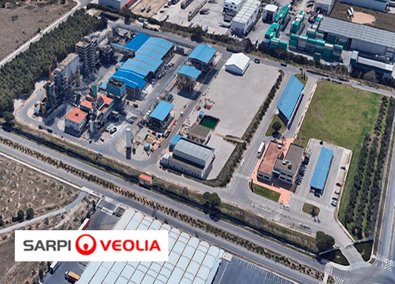 IDP realiza la ampliación de la planta de residuos especiales de Sarpi-Veolia en Constantí (Tarragona)