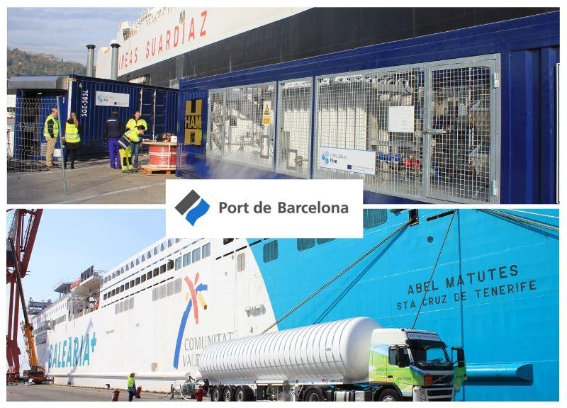 IDP renueva la asistencia técnica de los proyectos piloto de GNL en el Port de Barcelona