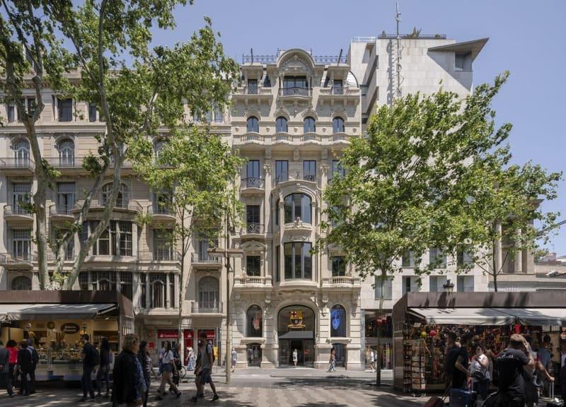 IDP realiza la reforma de las instalaciones de un edificio histórico para KKH en la Rambla de Barcelona